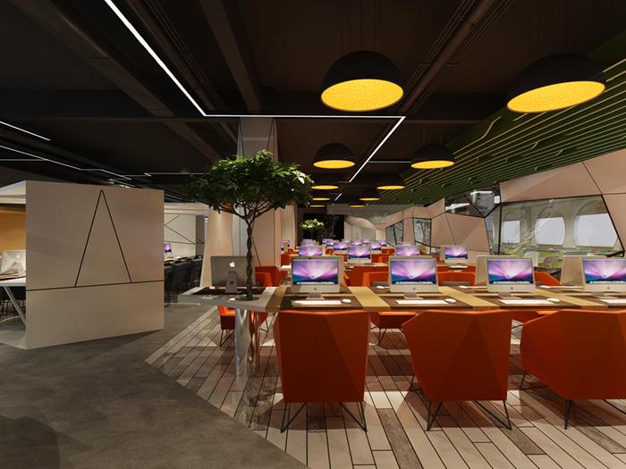 长沙办公室装修小空间要如何做效果图