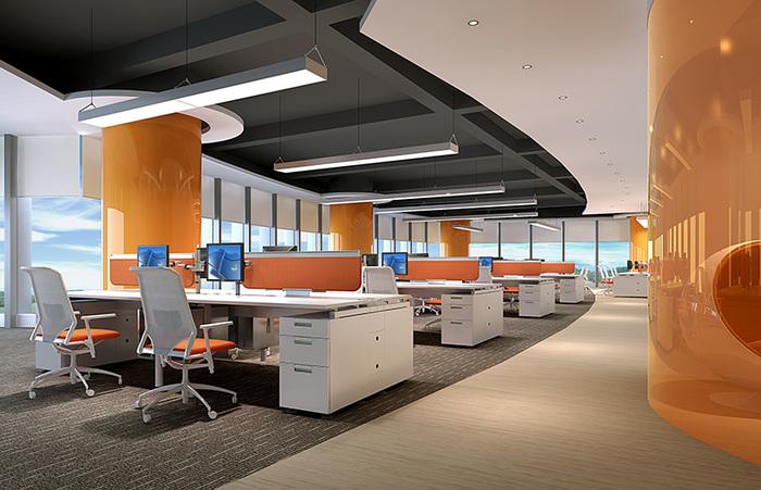 能给员工幸福感的办公室装修