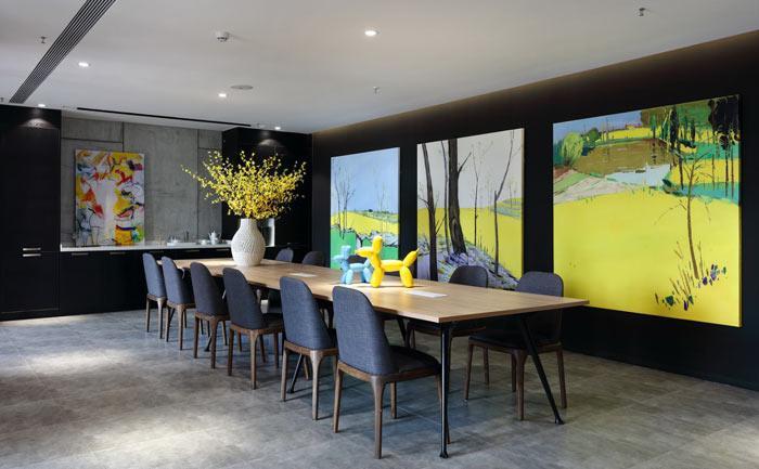 长沙办公装修:卓正装饰 创意办公室装修设计效果图