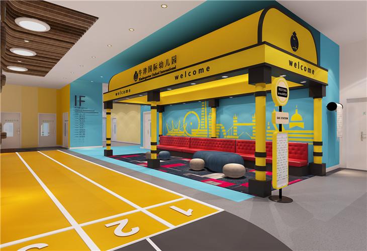 装修案例牛津国际 ▎幼儿园装修装修风格效果图