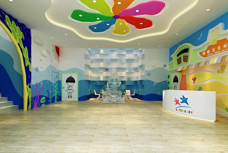 装修案例超级宝贝  ▎ 幼儿园装修设计装修风格效果图