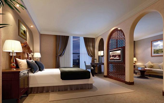 装修案例新宇酒店 ▎酒店装修设计装修风格效果图
