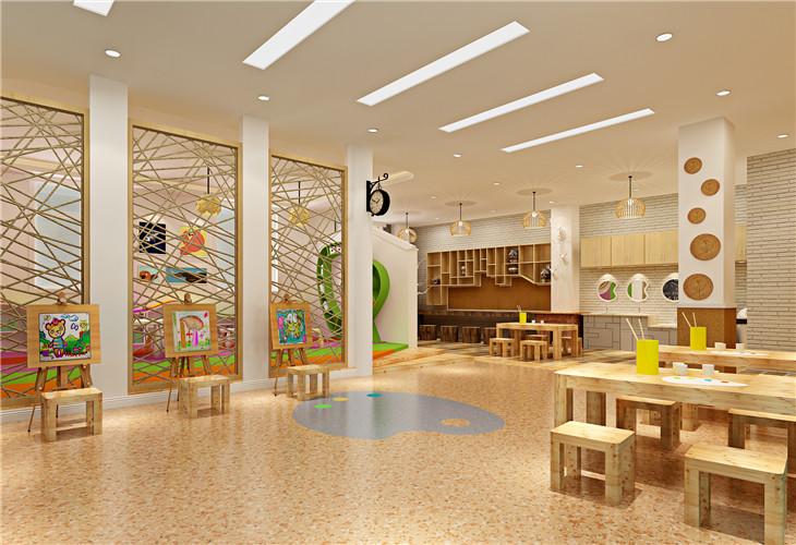 装修案例爱多 ▎国际幼儿园装修装修风格效果图