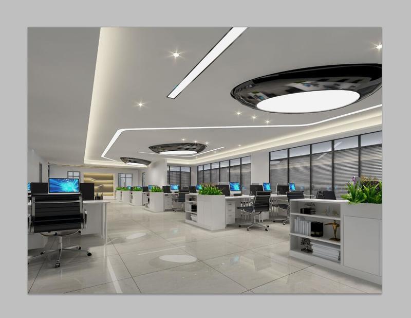 装修案例车汇贴 ▎ 长沙办公室装修装修风格效果图