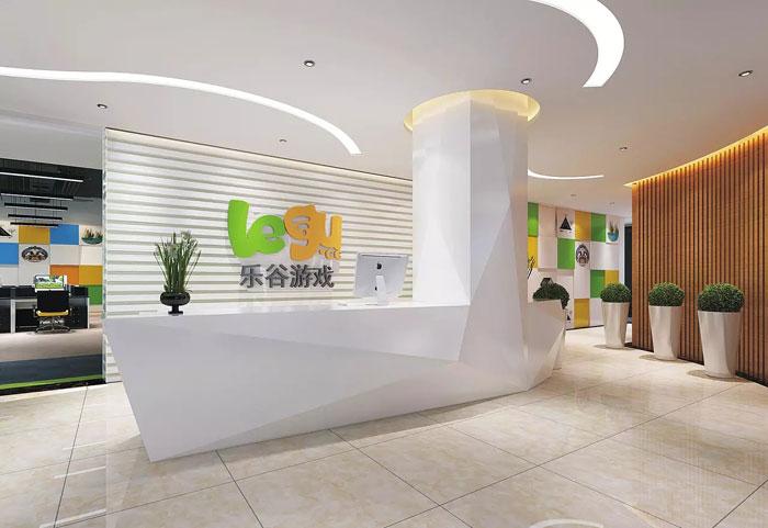 装修案例游戏公司乐谷|办公室装修设计装修风格效果图
