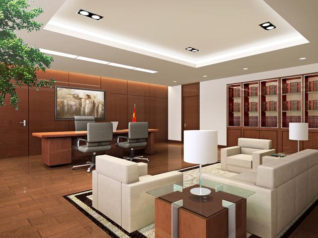 专业公装公司--现代简约办公室装修效果图