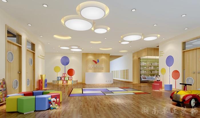 装修案例红黄蓝 ▎幼儿园装修装修风格效果图