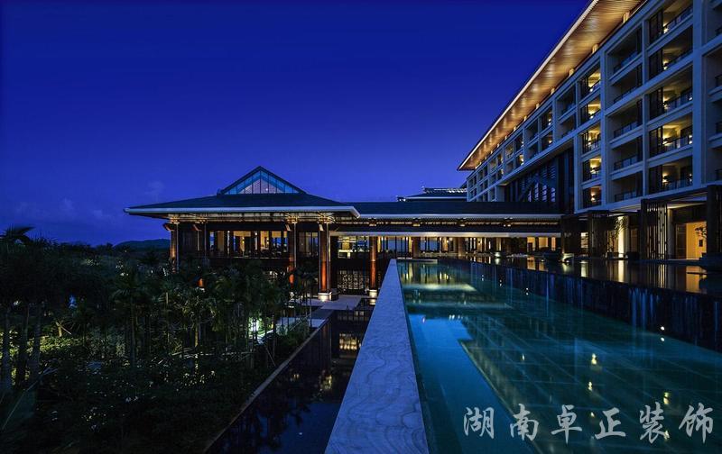 装修案例海棠湾|度假酒店设计装修风格效果图