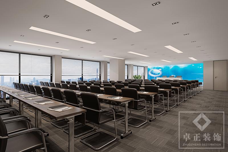 装修案例国企办公室装修设计装修风格效果图