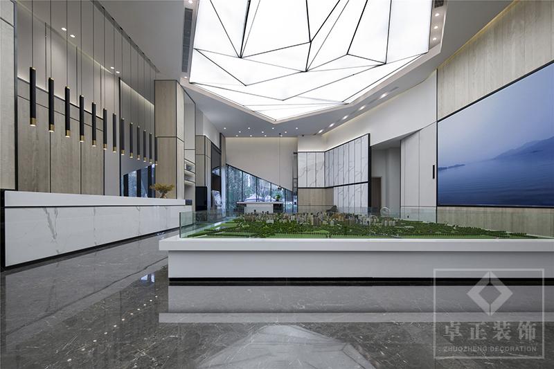 装修案例银杉|售楼部装修设计装修风格效果图