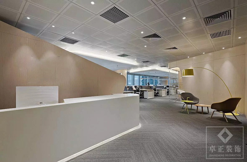 装修案例思海教育| 办公楼装修设计装修风格效果图